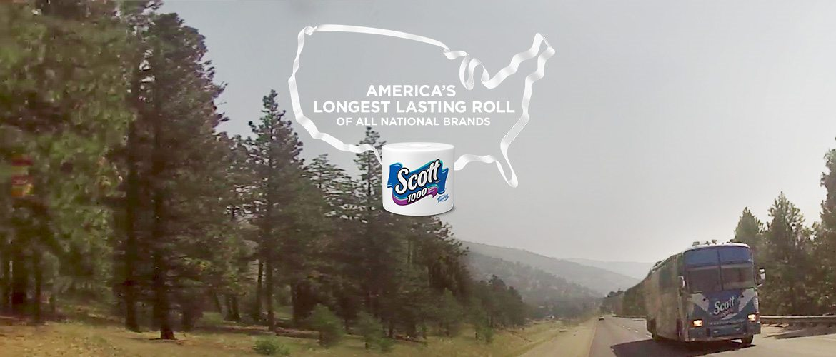 America's Longest Lasting Roll of All National Brands