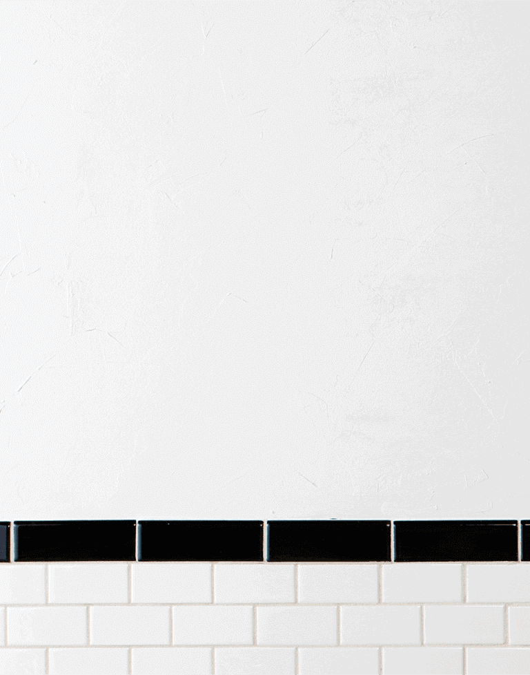 White Wallpaper and Tile Era 3 Image.