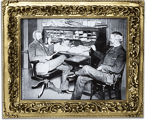 Scott Paper Co. Limited Picture Frame Era 1 Image.