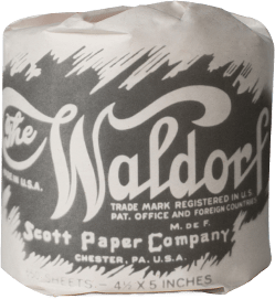 arthur hoyt scott changes the direction of scott paper and decides to manufacture its own brand of toilet paper waldorf