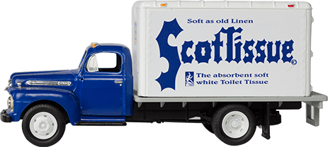 Scott ScotTissue Truck Era 4 Image.
