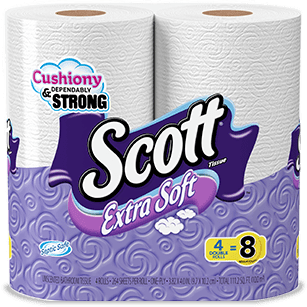 Scott Extra Soft Toilet Paper Era 5 Image.