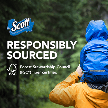 Responsible Sourced. Forest Stewardship Council (FSC) fiber certified.