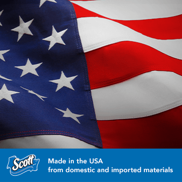 Made in the USA from domestic and imported materials
