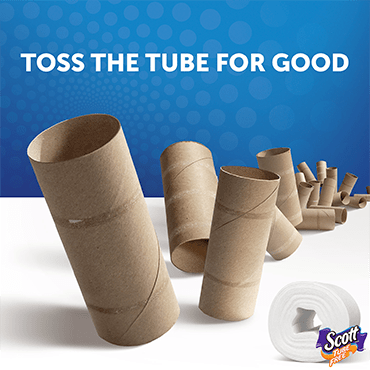 Toss the tube for good